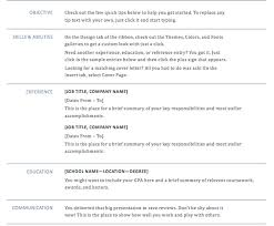 resume template docx haadyaooverbayresort com