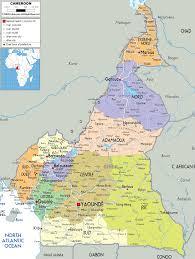 Gabon Map Detailed Clear Large Map Of Cameroon Ezilon Maps
