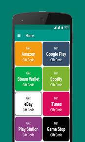 gift card generator apk free free gift card code generator apk for android getjar