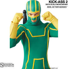 Kickass Halloween Costume Monkey Depot Boxed Figure Medicom Kick Kick 2 902190