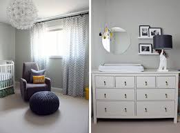 Gray And White Chevron Curtains Neutral Gray And Yellow Nursery Inspired By This