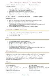 resume exles special education aide duties resume for a teaching position