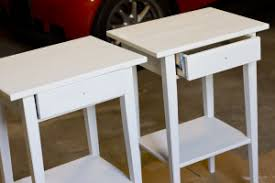 Ikea Hemnes Side Table Ikea Hemnes Nightstand Hack Sue Design