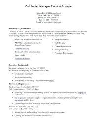 sample resume for call center u2013 topshoppingnetwork com