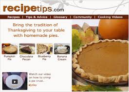 traditional thanksgiving day pie recipes how to cooking tips