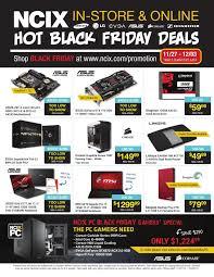 black friday ssd ncix weekly flyer black friday deals en nov 27 u2013 dec 3