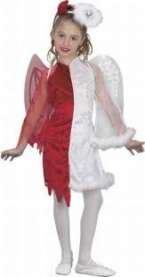 Angel Costume Halloween Amazon Angel Devil Kids Costume Small Clothing