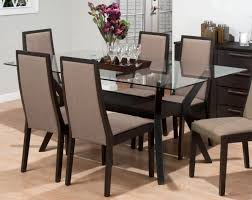 Rectangle Glass Dining Room Tables Rectangular Glass Dining Table Visionexchange Co