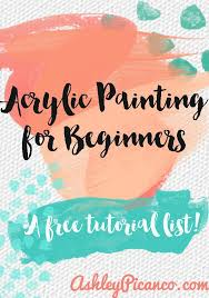 best 25 acrylic painting for beginners ideas on pinterest