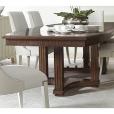 stanley furniture u0027s preserve artichoke wood pedestal dining table