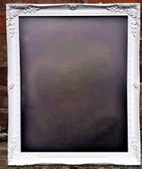a3 chalkboard white frame shabby chic large blackboard free uk p u0026p