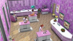 the sims 4 cats u0026 dogs 130 vet clinic trailer screens simsvip