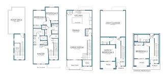 3 Bay Garage Plans by Floor Plans U2013 Platte 56