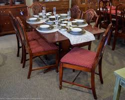 Duncan Phyfe Dining Room Table by Duncan Phyfe 7 Pc Dining Set New England Home Furniture Consignment
