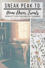 looking ahead a sneak peak into some end of summer decor trends
