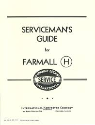 ih blue ribbon service training course manual case ih parts