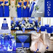 royal blue and silver wedding blue wedding color five combinations exclusively weddings