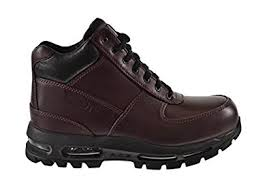 buy boots nike amazon com nike acg air max goadome s boots burgundy