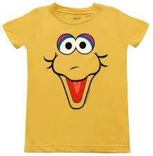 sesame street big bird face shirt sesame street costume