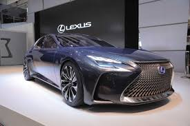 lexus concept sports car lexus lf fc concept is the fuel cell flagship of the future