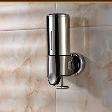 Ml Stainless Steel Hand Liquid Soap Dispenser Wall Mounted - Bathroom liquid soap dispenser