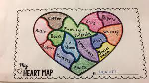 Map My Friends Heart Map Series Lauren