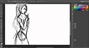 disney tangle quick sketch photoshop cs6 photoshop video tutorials