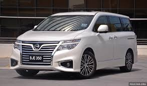 nissan elgrand description of the model photo gallery