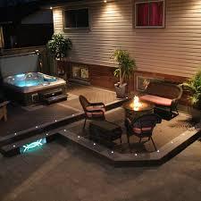 recessed dek dot led lights 4 pack indoor outdoor dekor