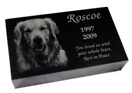 headstones for dogs pet loss memorial products goodgriefpetloss s