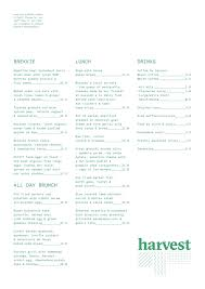 harvest menu menu for harvest riverhead auckland menumania zomato