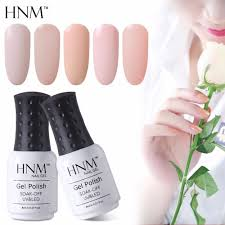 aliexpress com buy hnm light color 8ml gel nail polish hybrid