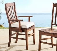 Sunbrella Bistro Chair Cushions Pb Outdoor Dining Furniture Cushions Pottery Barn