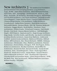 new architects 3 britain u0027s best emerging architects architecture