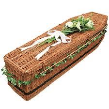wicker casket coffins and caskets jonathan terry