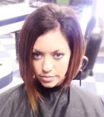 nice hairstyle for short medium hair with one hair band asymmetrical haircut short hair one side longer super texturized