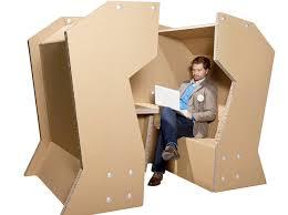 How To Make A Cardboard Desk Cardboard Office Desk Design U0026 Other Creative Cardboard Furniture