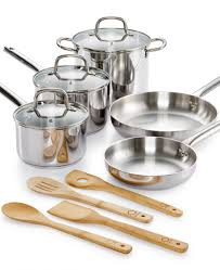 martha stewart 12 piece stainless steel cookware set fabulessly