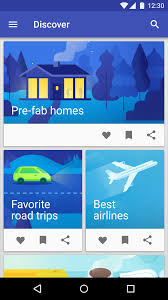 android best way to share from a material design list user