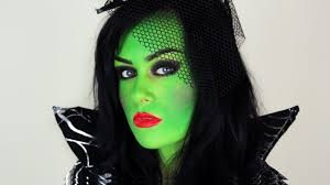 Face Makeup Designs For Halloween by Easy Witch Make Up For Halloween Youtube
