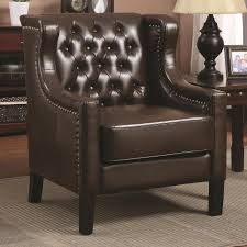 Accent Chair With Brown Leather Sofa Brown Leather Accent Chair Steal A Sofa Furniture Outlet Los