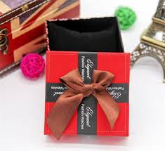 love hearts design watch boxes elegant fashion watches box package