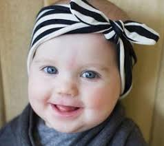 knotted headband black white stripe knot headband