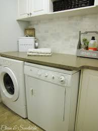 Decorated Laundry Rooms Beautifully Organized Small Laundry Rooms The Happy Housie