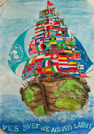 Children S Map Of The World by The Whole World Is On The Same Boat Children Map Their World
