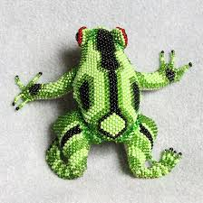 95 best beaded frogs images on pinterest frogs beadwork and