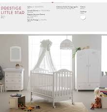Pali Cribs Prestige Little Star Cot By Pali Available With Mosquito Net And