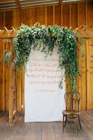 Wedding Backdrop Pictures 16 Wedding Backdrop Ideas With Greenery Backdrops Weddings And