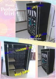 Dressing Wardrobe by 2017 Fashion Cloth Cabinet Folding 600d Wardrobe Dressing Table