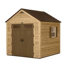suncast 8 u0027 x 8 u0027 hybrid shed storage